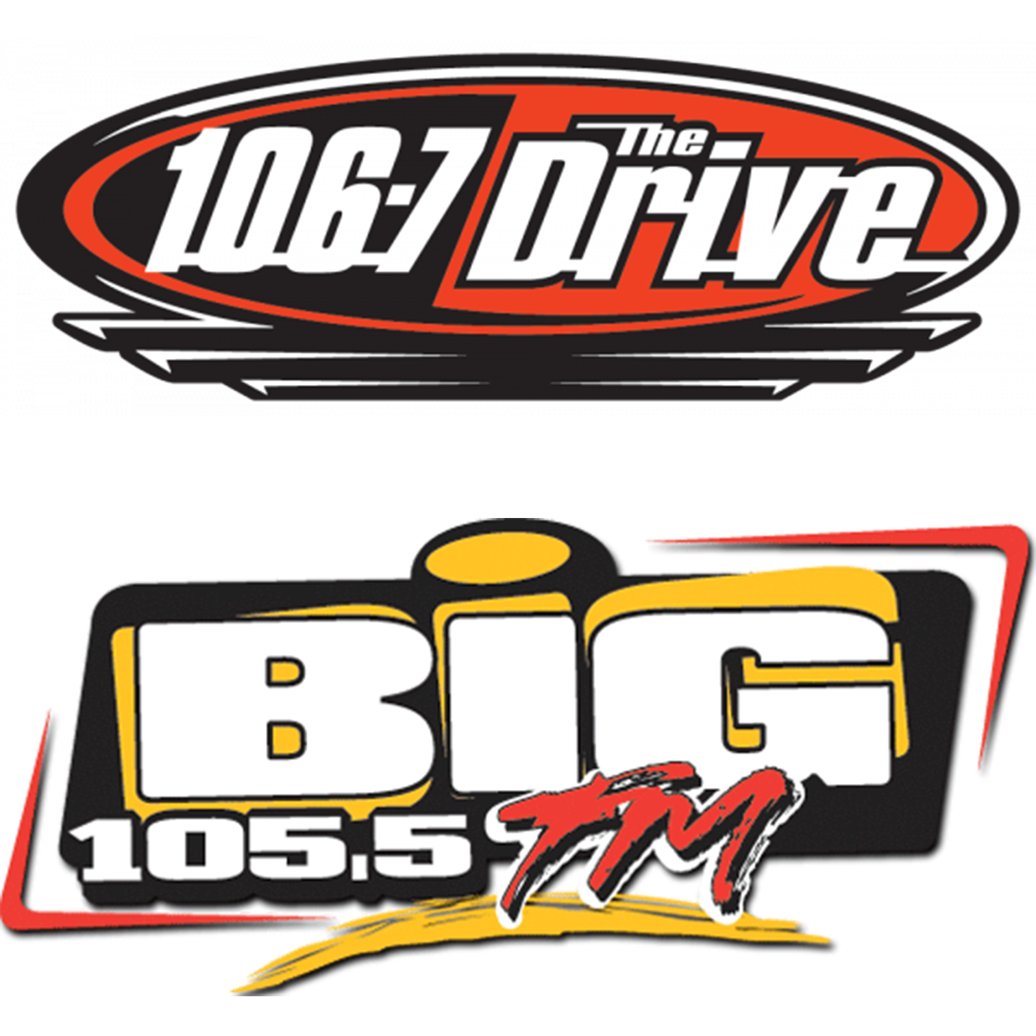 106.7 The drive & BIG 105.5 FM