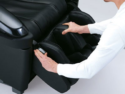 Panasonic Black Leather Massage Chair