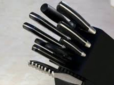 Henckels Forged Aviara Knife Set, 17‐pcs