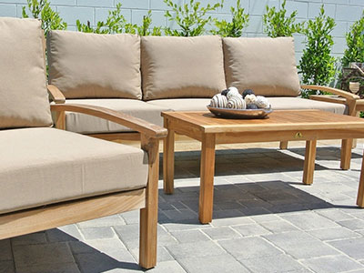 Huntington 6‐Piece Seating Patio Furniture Set
