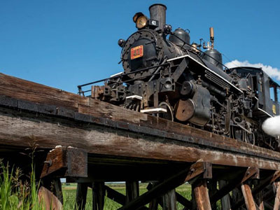 Alberta Prairie Railway's Country Dinner Excursion (4 Adults)